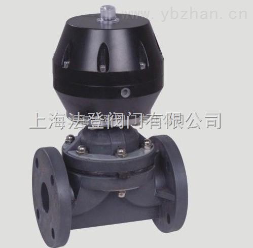 VTG41F-VG41F塑料氣動隔膜閥