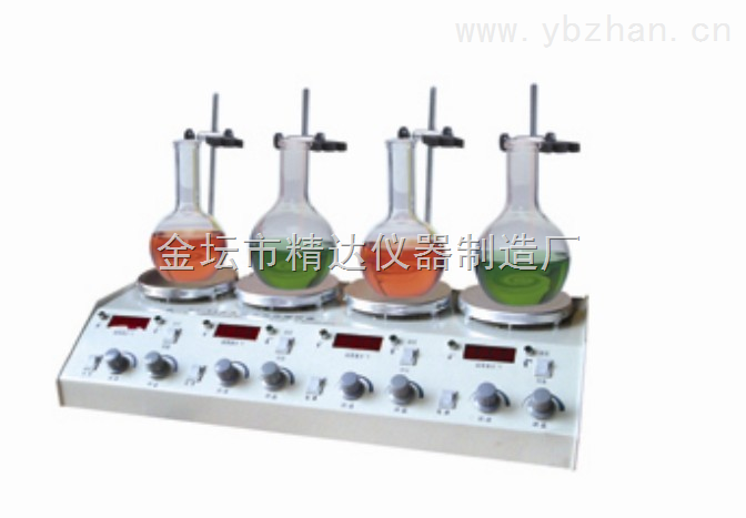 HJ-2\4\6多头磁力加热搅拌器