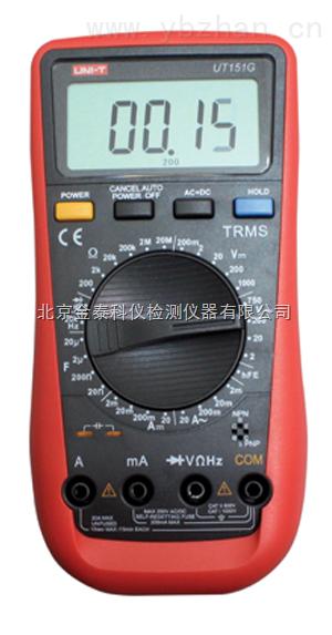 UT151C多功能萬用表種類,萬用表工作電壓,萬用表操作步驟