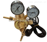 电加热二氧化碳双表头全铜大流量减压器YQC-03R型