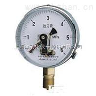 YXC-100-Z抗振磁助电接点压力表上海自动化仪表四厂