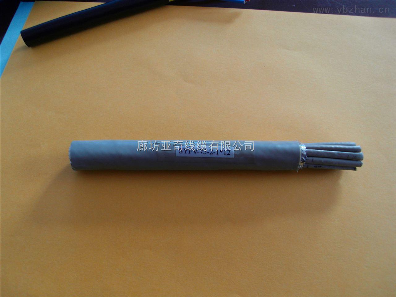 SYFZ-75-2-1*4微微同轴电缆中继电缆两兆电缆