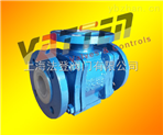 氣動耐腐蝕三通球閥 三通L型全襯氟球閥電動DN65