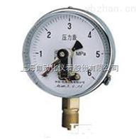 YXC-100-Z抗振磁助电接点压力表
