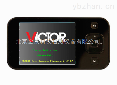 北京金泰数字示波器VICTOR 102批发  手持式示波器