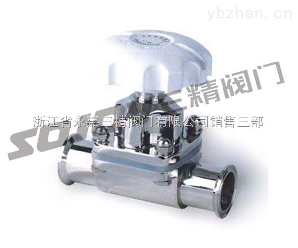 G49J-10-G49J-10不銹鋼衛生級隔膜閥