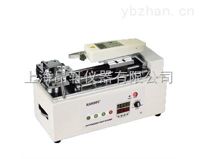 电动卧式测试仪、5000N拉压力电动卧式测试台