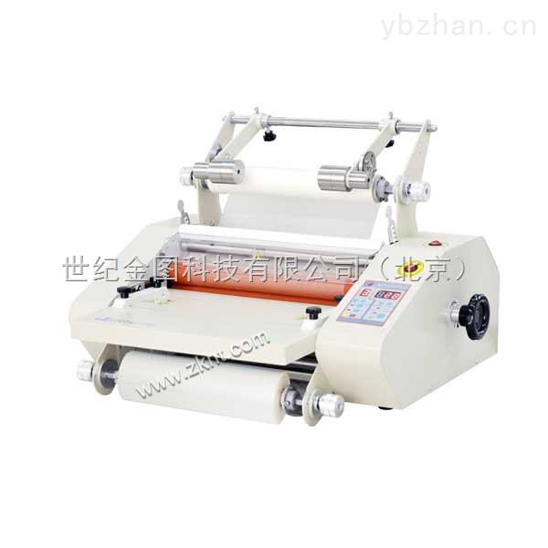 金图HR-3360防卷曲覆膜机 小型冷裱覆膜设备