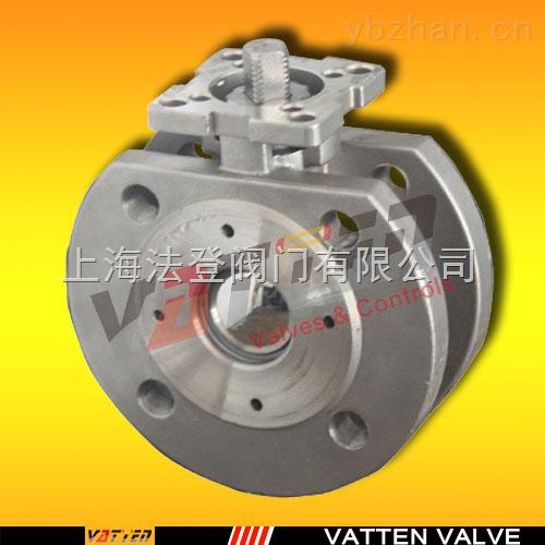 VT2HHF33A-薄型对夹球阀 手动高平台薄型球阀