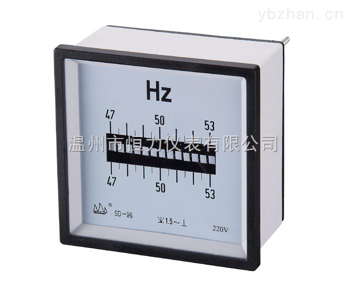 帆船牌SD-1F96Hz  SD-1F80Hz  SD-1F72Hz频率表