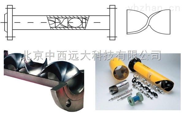 库号:M39594-管道静态混合器 型号:YNT55-SK-50/100