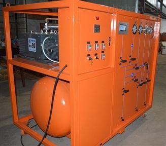 中压充气柜用经济款SF6回收净化装置