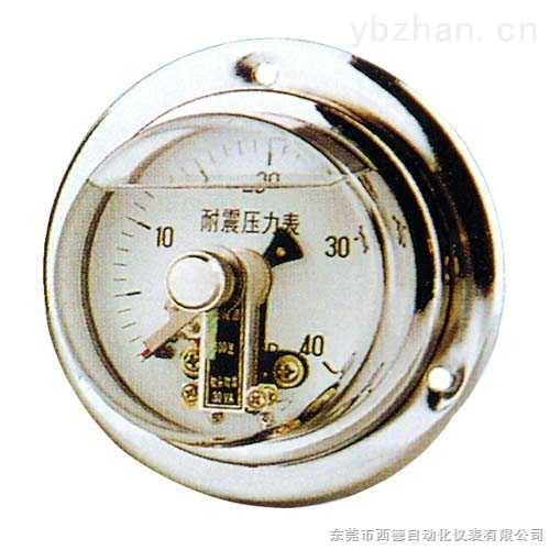 电接点轴向压力表适用于液压机械