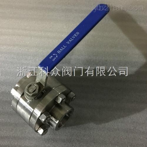 Q61H/Y-不锈钢高压焊接硬密封球阀