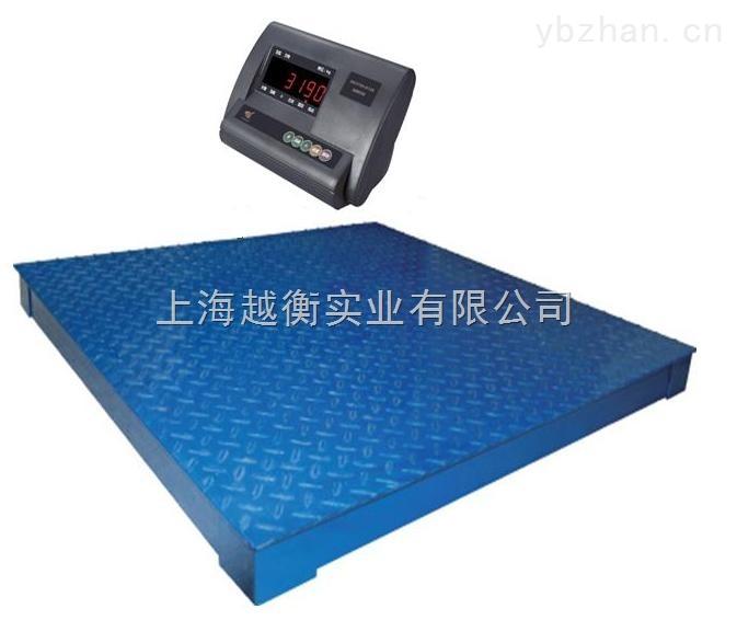 上海帶打印電子地磅秤 帶報警燈電子地磅秤