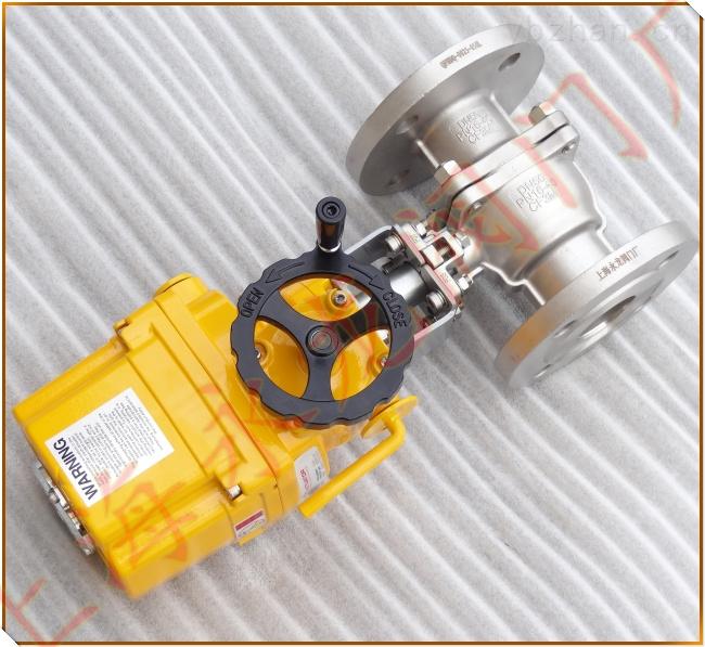 上海国产优质防爆型氨站专用电动液氨球阀