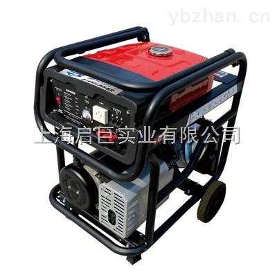 工地用5千瓦移动汽油发电机