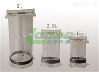 有机玻璃采水器厂家 可定制不锈钢材料 1,2.5,5L可选