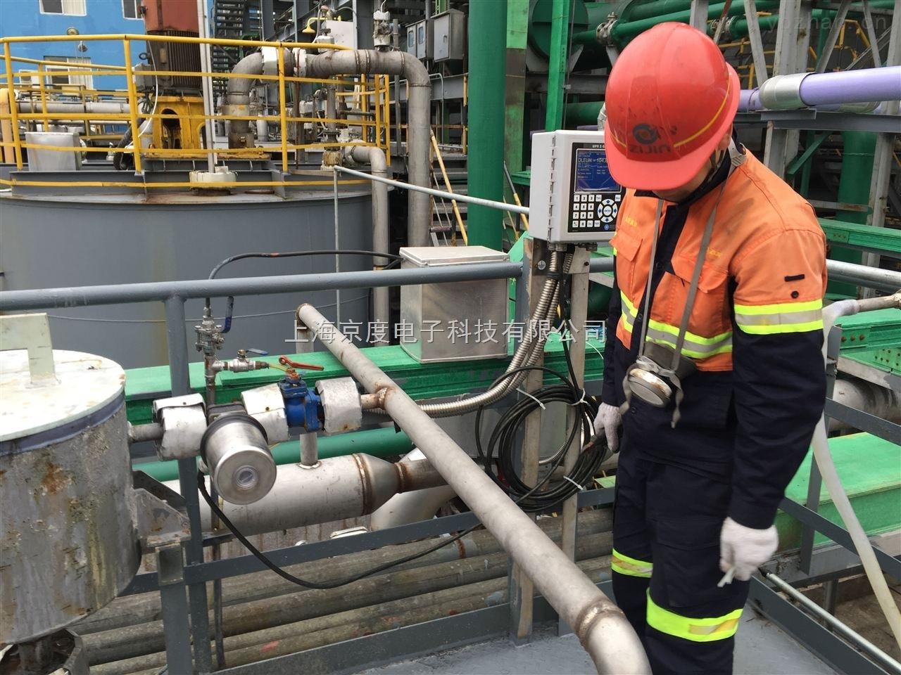 铜冶炼制酸系统105%发烟硫酸在线浓度仪