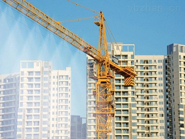 河南工地自动塔吊喷淋除尘喷淋系统