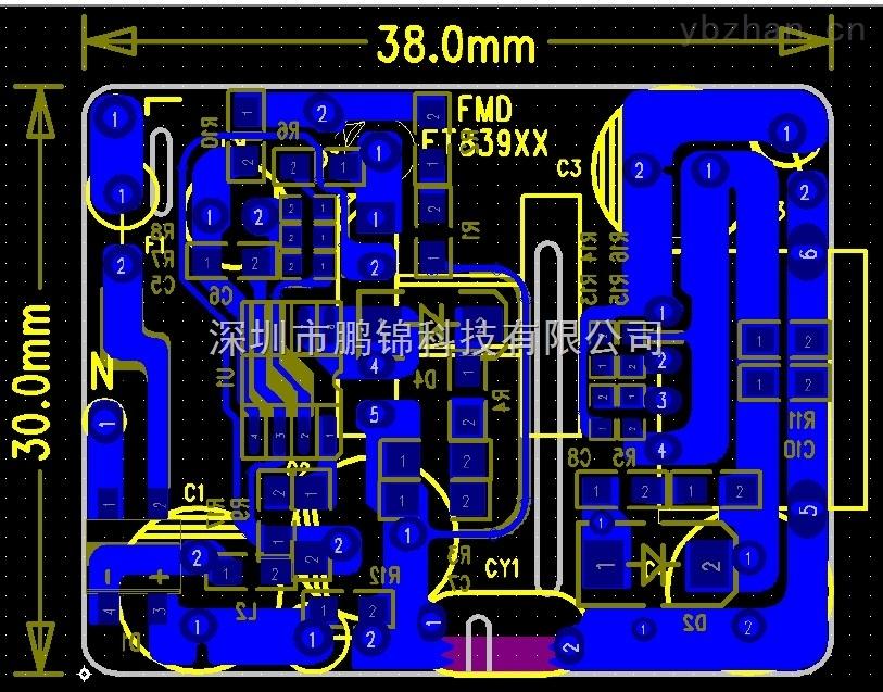 ft839ndx5v2a充电器六级能效方案设计报告 电子元器件