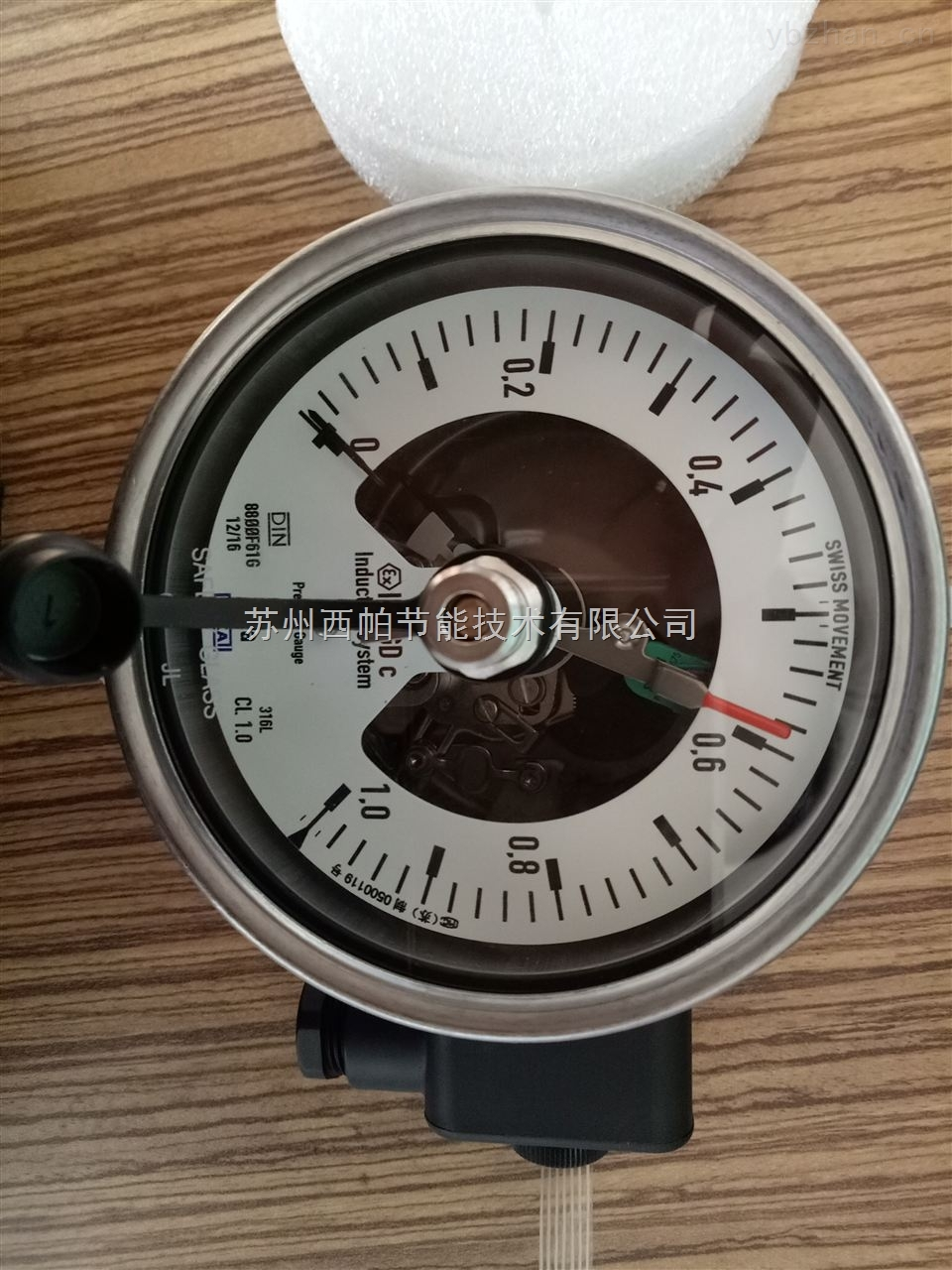 233.50.100+821.1-威卡wika電接點壓力表