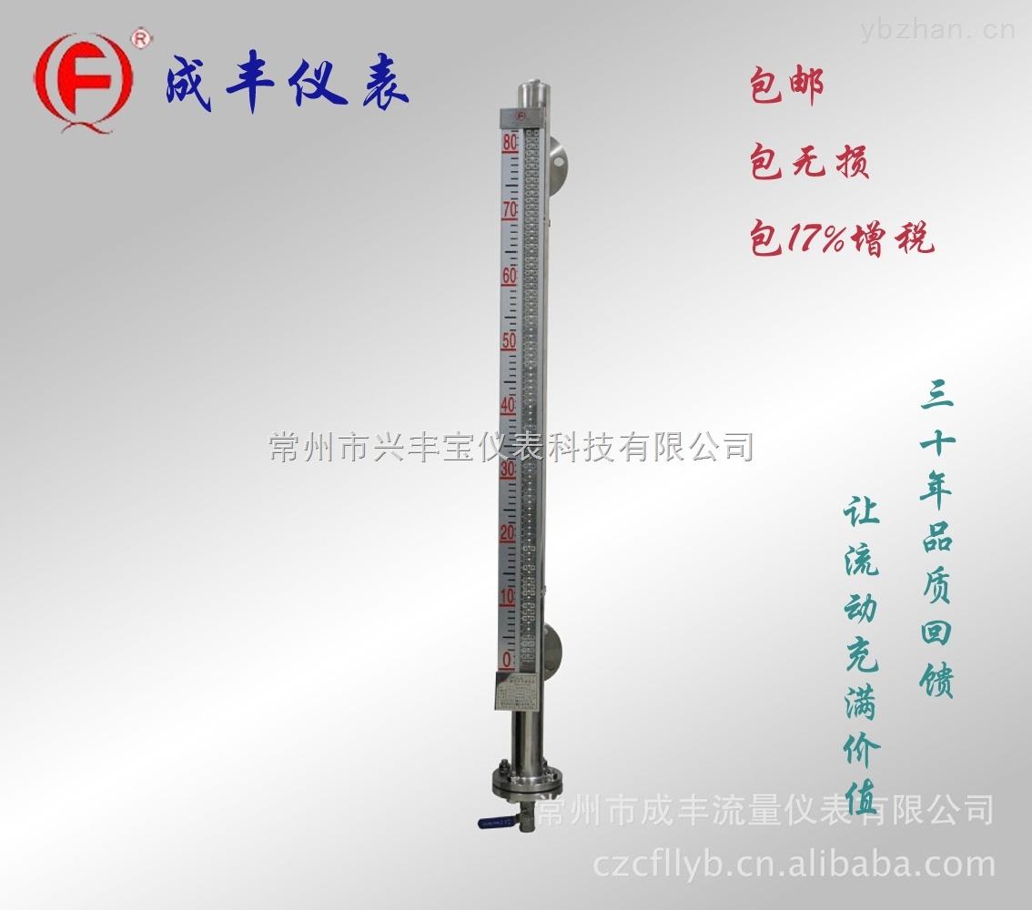 包邮杭州远传磁翻板液位计成丰仪表信号输出