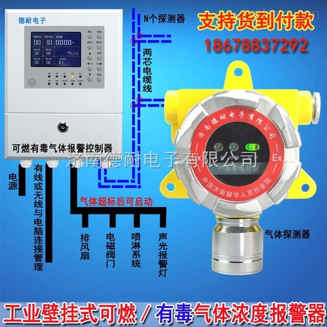 固定式氢气泄漏报警器