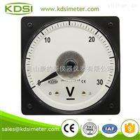 指針式廣角度直流伏特表 LS-110 DC30V 船用電壓表