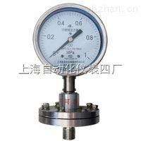 Y-100A/Z/ML(B)/316不銹鋼隔膜壓力表