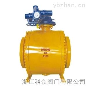Q947-64 DN1000-DN1000鍛鋼硬密封高溫耐磨球閥