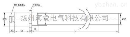 SRY6F型风电齿轮箱用电加热器厂家