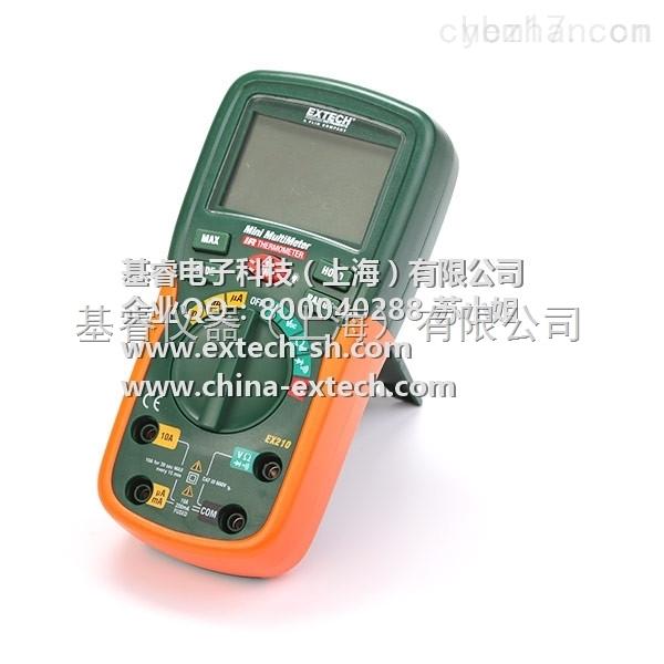EXTECH EX210 万用表,带红外测温仪的真有效值万用表