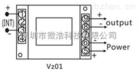 直流电压传感器(三隔离)12v/24v供电