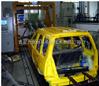 汽车座椅安全带固定点强度试验系统