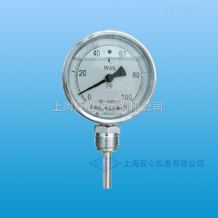 WSS-411-不锈钢双金属温度计