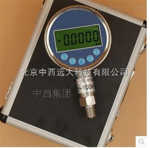 高精度精密数字压力表 数显真空压力计 型号:JDYBS-C库号:M7482