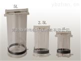 供應第三方檢測機構采集水質儀器  LB-800有機玻璃采水器