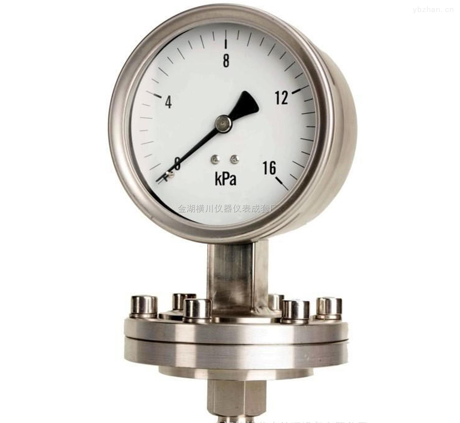 HC-YNTX-卫生型隔膜压力表