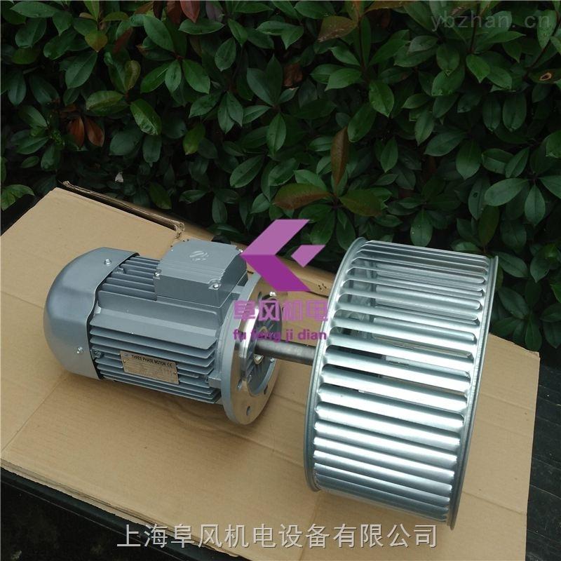 箱烤热风循环风机-加长轴电机