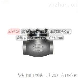 國標高壓焊接DH61F-40P低溫止回閥