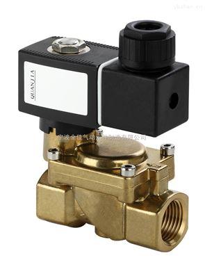 宁波quanjia黄铜水用先导式电磁阀图片