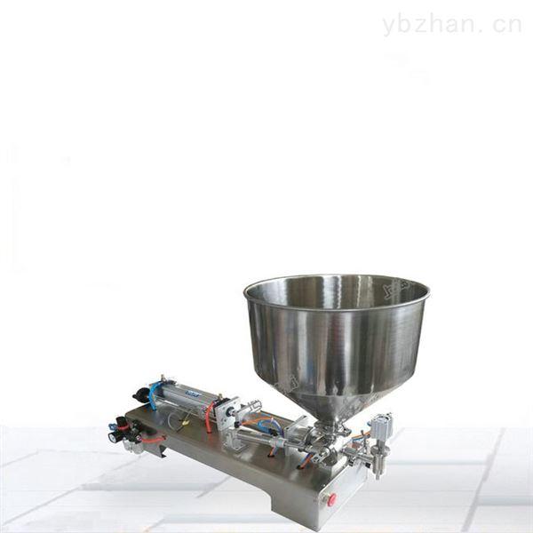 辣椒酱半自动膏体小型灌装机
