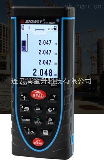 SW-Q200-帶延長條帶電子水泡激光測距儀SW-Q200深達威