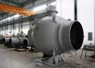 我国高压大口径全焊接阀体管线球阀可批量生产