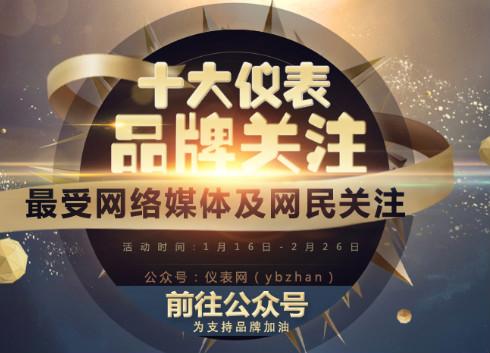 """2016""""十大仪表品牌关注""""人气比拼倒计时开启"""
