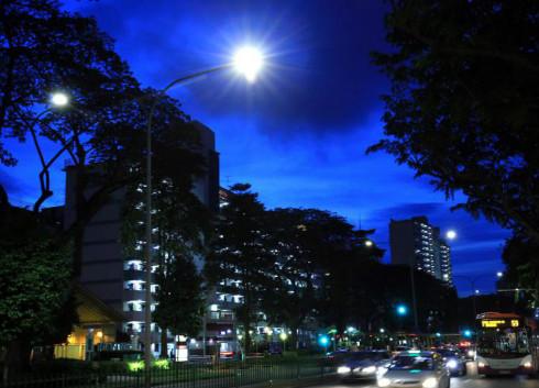 利用10万盏街灯 新加坡欲构建全国传感器网络