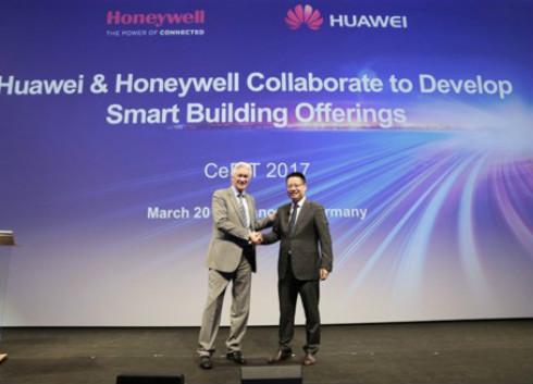 霍尼韦尔携手华为 就智慧城市项目达成合作