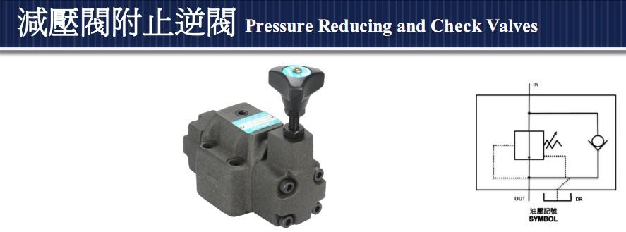 台湾ASHUN油顺减压阀附止逆阀BRCV-03G-B4s机模图片