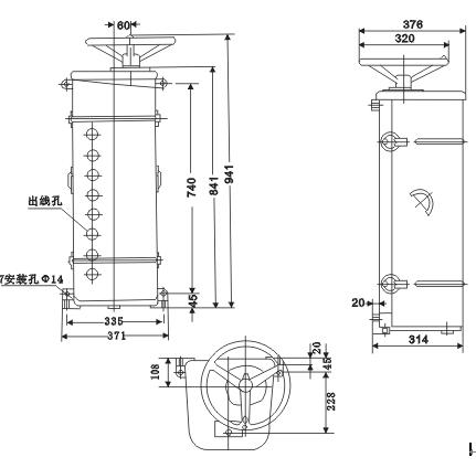xktg1-150系列凸轮控制器,用于交流50hz电压至380伏的电路中,主要作交